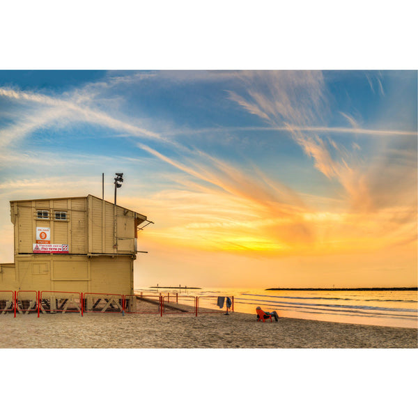 Tel Aviv Lifeguard Tower
