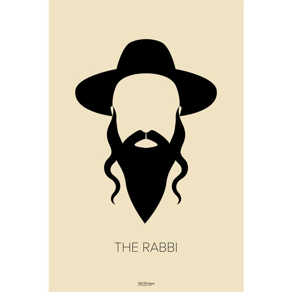 The Rabbi Poster