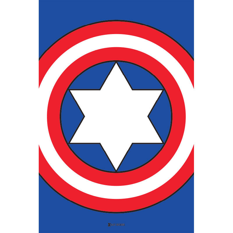 Captain Judaica Poster