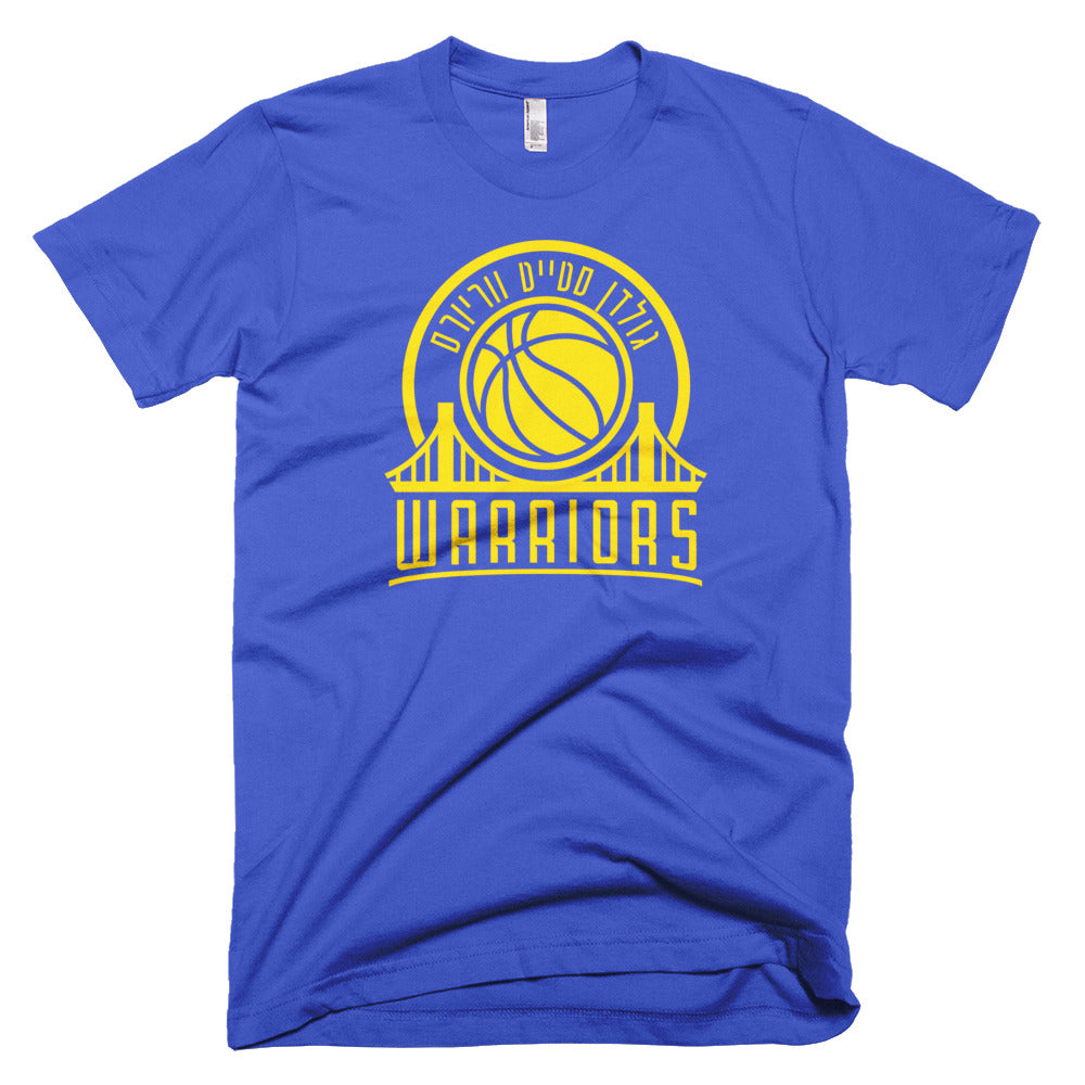 ea4423d8bd2a6 Golden State Warriors Hebrew T-Shirt - Alef Designs