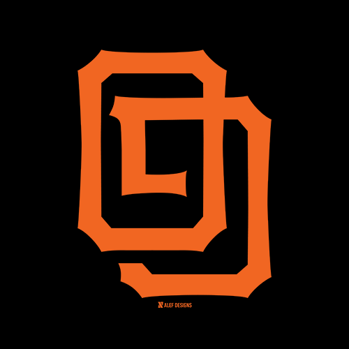 San Francisco Giants Hebrew T-Shirt