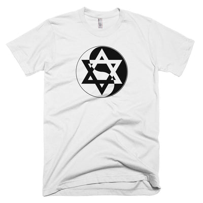 Yin Yang Star of David T-Shirt