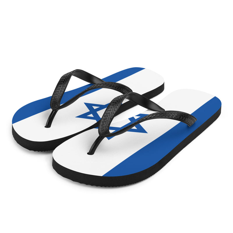Flag of Israel Flip-Flops