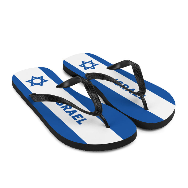 Flag of Israel Flip-Flops Sandals