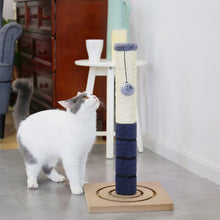 Load image into Gallery viewer, Domestic Delivery Height 238-274cm Pet Cat Tree Condo Scratcher Adjustable Scratching Climbing Tree Cat Toy Protecting Furniture