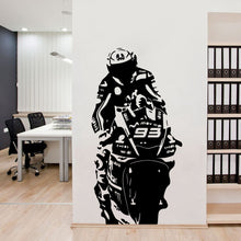 Load image into Gallery viewer, Large Size Motorcycle 93 Vinyl Wall Sticker Modern Stickers For Living Room Decoration Wall Decal Bedroom Decor