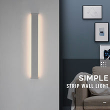 Load image into Gallery viewer, SCON LED Wall Lamp Long Modern Bedroom Living Room Stairway Up and Down Lighting Sofa background minimalist Decoration Fixtures