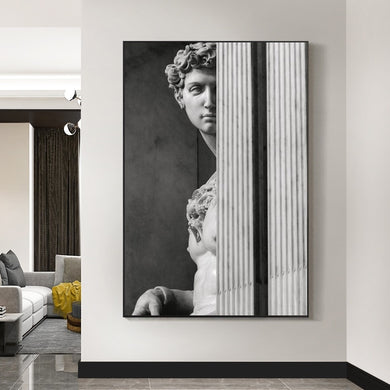 David Sculpture Canvas Art Posters And Prints Nordic Statue of David Wall Art Pictures Modern Canvas Paintings On The Wall Decor