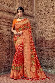 Ideal Multi Color Designer Silk Saree