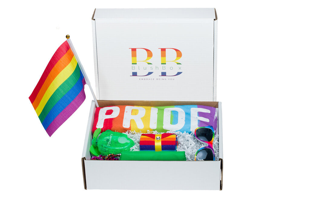 LGBTQ+ Green Pride Box
