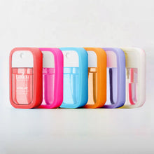 Load image into Gallery viewer, Pocket Sanitizer Mist with Case and Key Ring {assorted colors!}