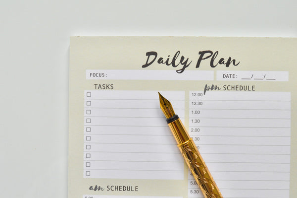 Law A5 Daily Planner