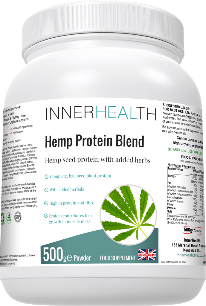 Organic Hemp Protein Blend - Inner Health Clinic