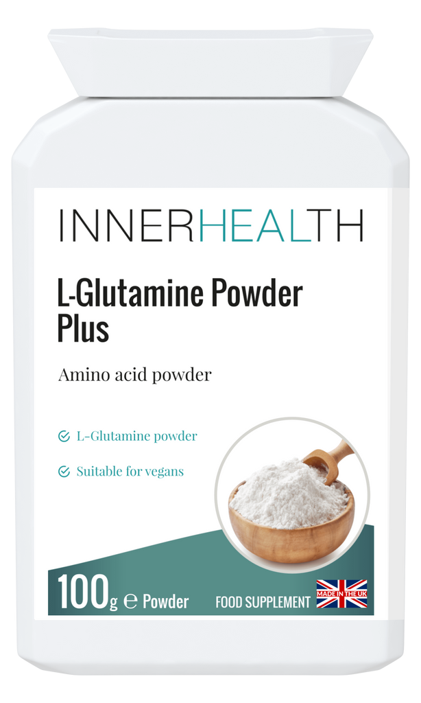 L-Glutamine Powder Plus - 100g Powder - Inner Health Clinic