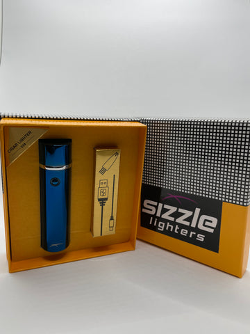 Large Cylinder Blue in box