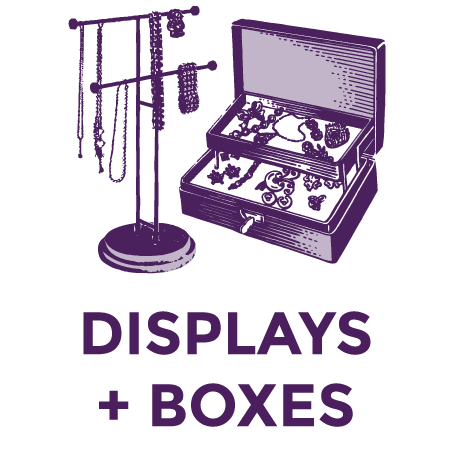 Jewelry Displays & Boxes