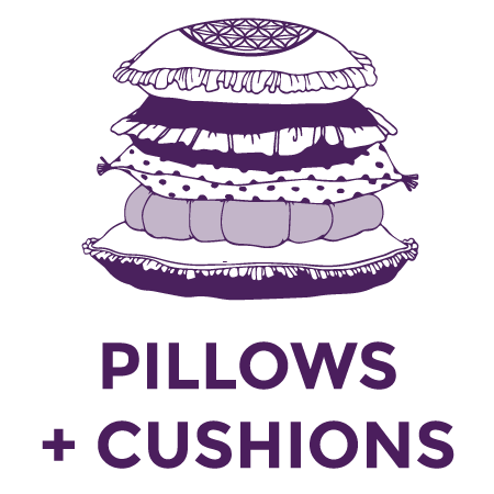 Pillows, Poufs & Cushions