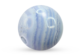 Blue Lace Agate Bead Voltlin Spiritual Healing Crystals & Gemstones Jewelry
