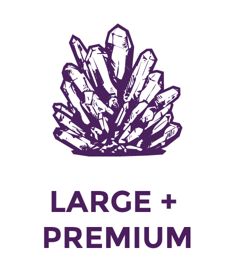 Large & Premium - Crystals & Gemstones