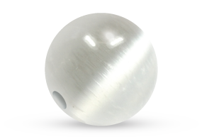 Selenite Bead Voltlin Spiritual Healing Crystals & Gemstones Jewelry