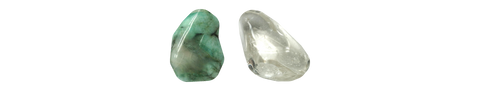 Emerald - Clear Quartz