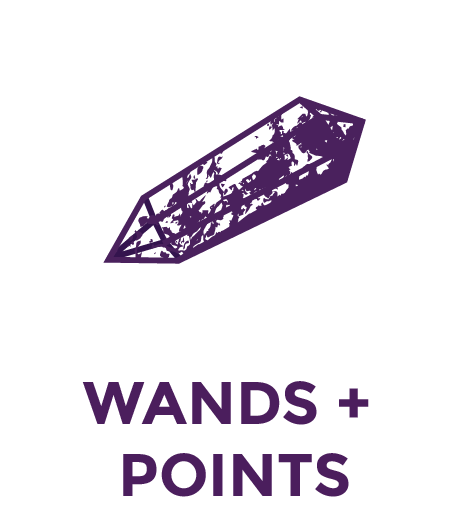 Wands & Points - Crystals & Gemstones