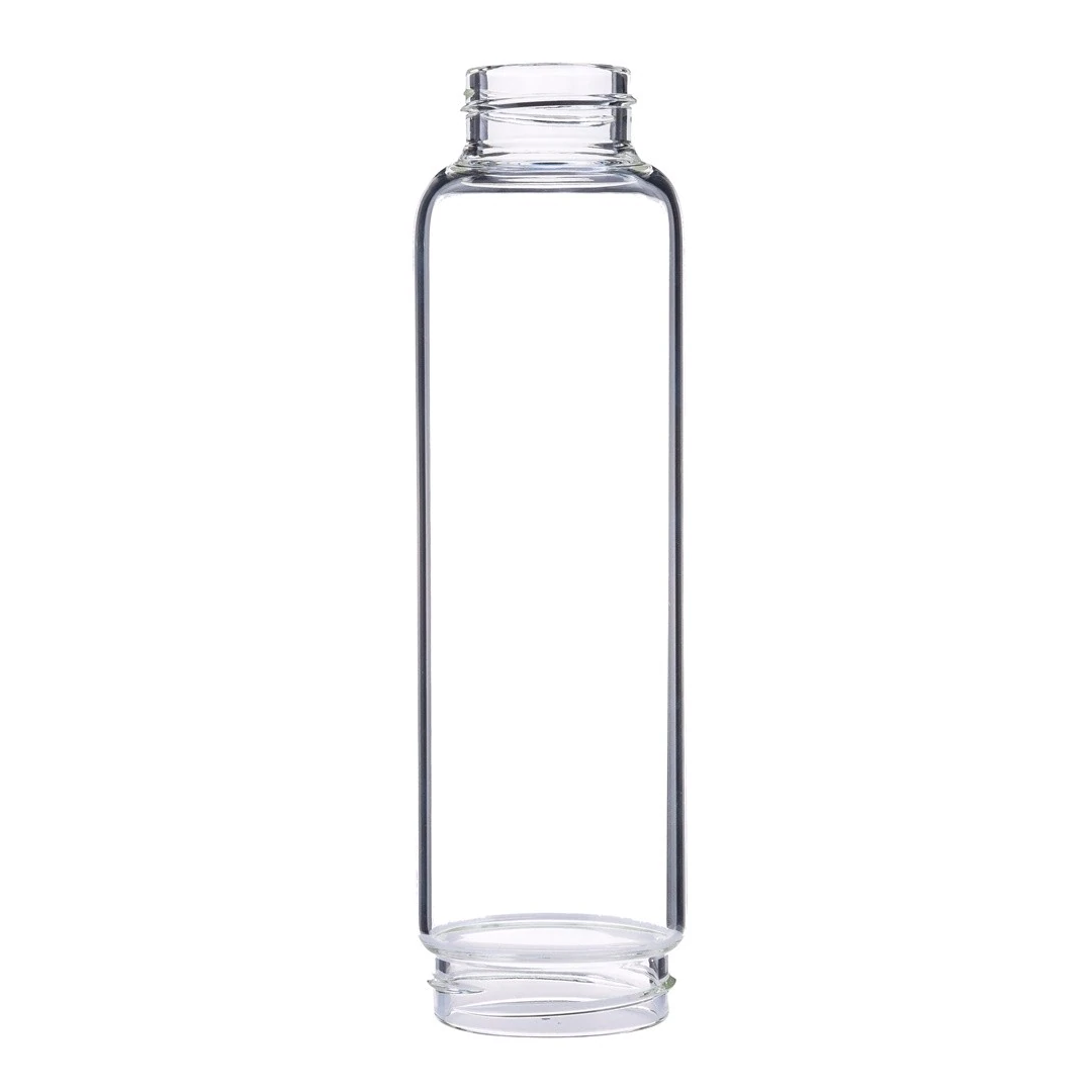Crystal Point Water Bottle Replacement Accessories, Create Gem-Infused Elixirs, 18.5 oz., Glass & Stainless Steel, VOLTLIN