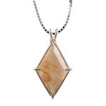 Rutilated Quartz Ascension Star Chain Pendant