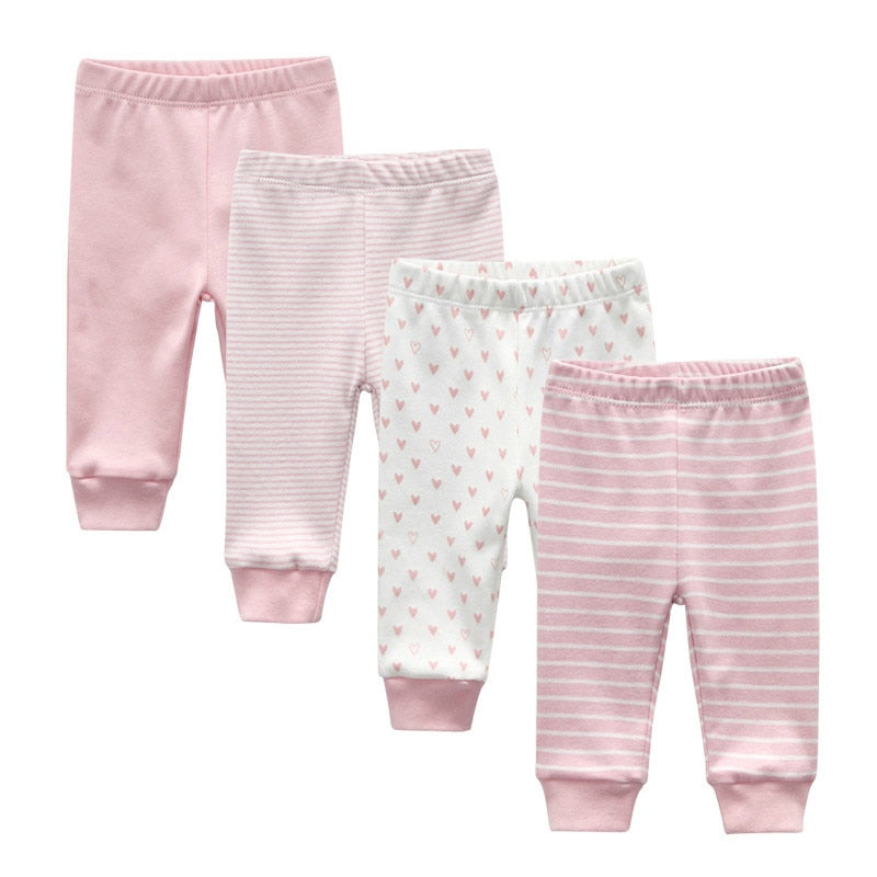 LOT DE 4 LEGGINGS BEBE