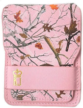 Load image into Gallery viewer, Pink Camo Wallet Leather Minimalist Wallet Unique Camouflage Design