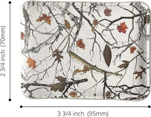 Load image into Gallery viewer, White Camo Wallet Leather Minimalist Wallet Unique Camouflage Design