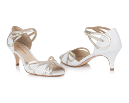 Rachel Simpson Wedding Shoe | Silver Moon