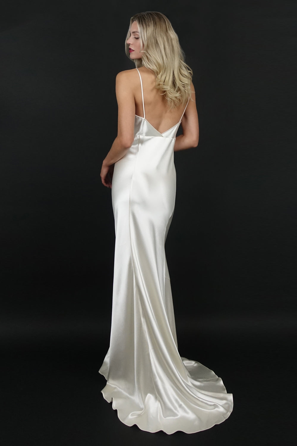 Classic Wedding Gown | Silver Moon | Back