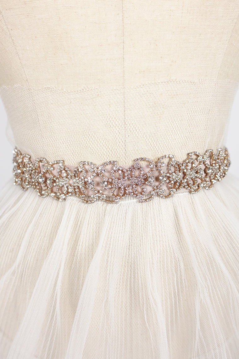 Rose Gold Sash