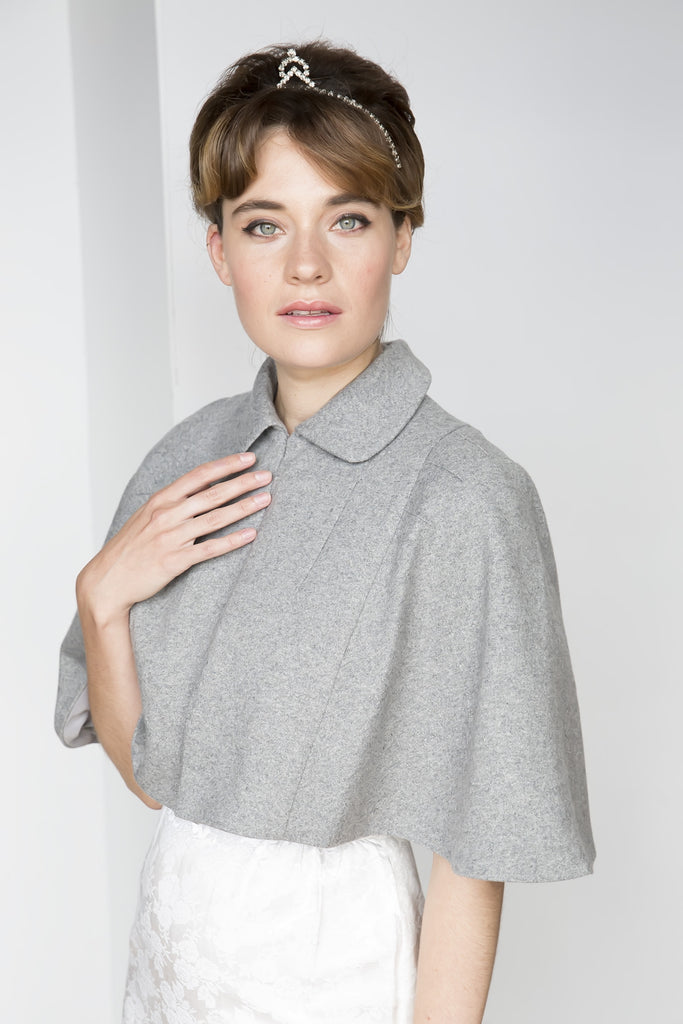 Silver Moon | Vintage Inspired | Elly Cape Grey