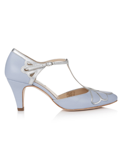 Silver Moon | Rachel Simpson Gardenia Wedding Shoe | Side