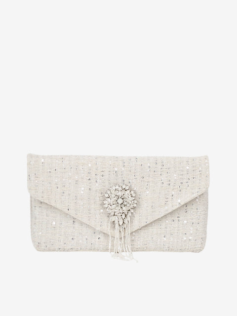 Ruth Clutch London | Silver Moon