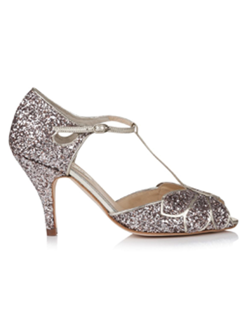 Rachel Simpson Mimosa Quartz Wedding Shoe | Silver Moon