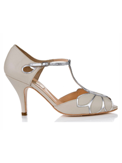 Silver Moon | Rachel Simpson Mimosa Wedding Shoe | Side