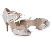 Silver Moon | Rachel Simpson Ophelia Wedding Shoe