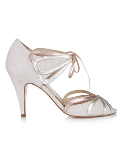 Silver Moon | Rachel Simpson Ophelia Wedding Shoe | Side