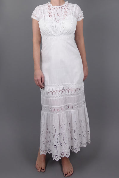 Poppy Dress | Little White Dresses | Silver Moon | Front
