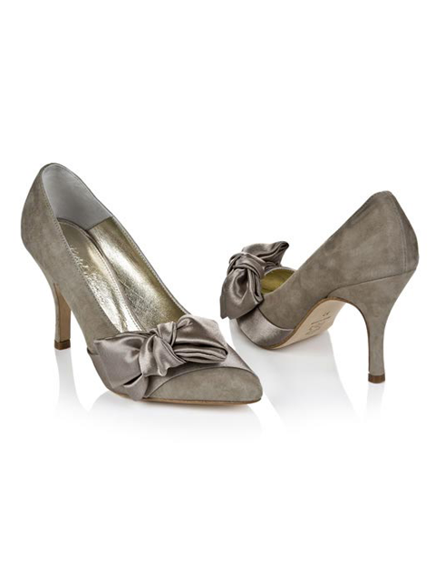 Rachel Simpson Marilyn Wedding Shoe | Silver Moon