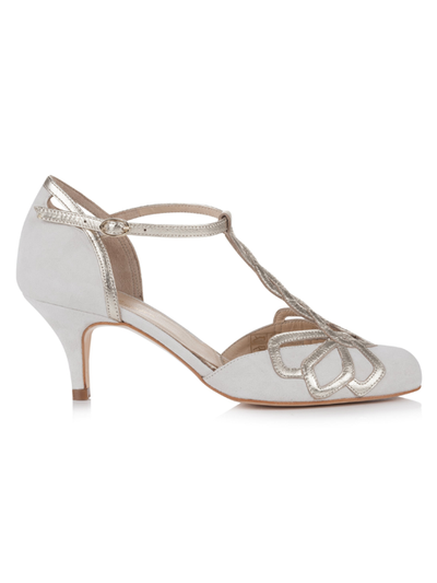 Silver Moon  | Rachel Simpson Rosita Wedding Shoe | Side
