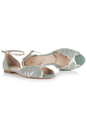 Rachel Simpson Willow Wedding Shoe | Silver Moon | Inside