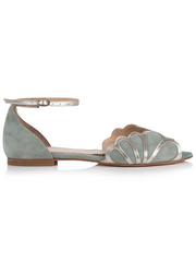 Rachel Simpson Willow Wedding Shoe | Silver Moon | Side