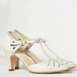 Silver Moon | Rachel Simpson Gardenia Wedding Shoe