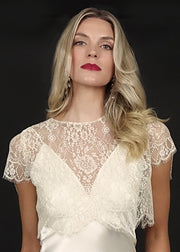 Iona Lace Topper