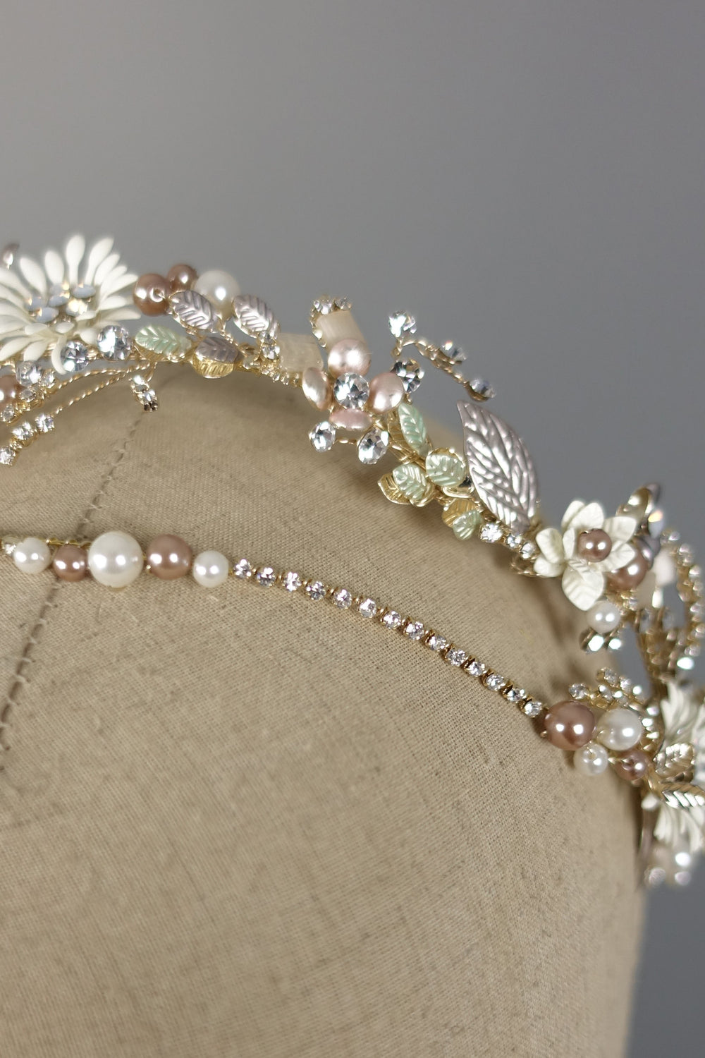 Garden Hair Band | Silver Moon Detail