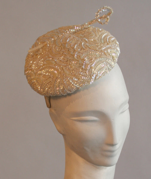 Vintage Sequin Hat